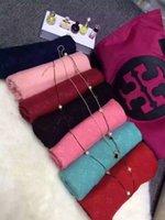 plain jerseys - Cashmere Pashmina Shawl Jersey Scarves Copy For Women Men Infinity Scarfs Wraps cm Plain Colors Scarfs Designer DHL Free