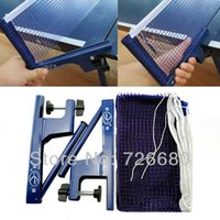 Wholesale Merry Christmas Folding professional ping pong table tennis rack set net feet high