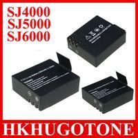 Wholesale Sport Camera SJCAM Battery SJ4000 SJ SJ6000 V mAh Li ion Battery Bateria for Waterproof Cameras SJ4000 SJ4000 wifi SJ5000 Sj6000