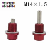 Wholesale Racing M14X1 Magnetic Oil Tranny Drain Plug Package for Honda With logo