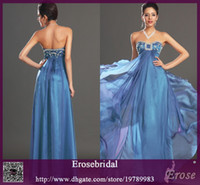 empire line dress - Mother Dresses For Wedding Strapless Beaded Empire Sexy Chiffon Long Mother Formal Party Dresses Evening Dresses New MOB