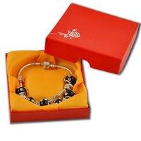 Cheap Chinese elements New Fashion diy 925 jewelry bracelet for women Crystal bracelet silver bracelets charm bracelet with box