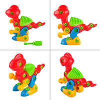 Wholesale Disassembly Dinosaur Design Educational Toys For Children Kids Red And Green Dinasaur Toys Educational Toys
