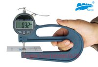 Wholesale Thickness gauge Digital Thickness Gauge thickness meter Long Handle Digital display Thickness Gauge