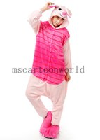 Wholesale 2015 Pink Bika Qiu Animal suits Cosplay Costume Adult Garment Coral Fleece Stitch Cartoon Animal Sleep