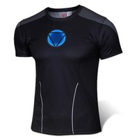 arc reactor shirt - Marvel Heroes Iron Man Tony Stark Armor Short Sleeve T Shirt Avengers Iron Man Arc Reactor Large Size Long Sleeve T shirt