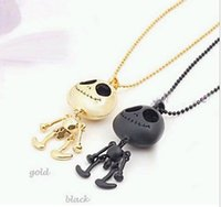 Lockets alien resin - 2015 Necklace fashion generous eyes UFO alien Skull Necklace Woman Luxurious Paragraph fashion Necklace