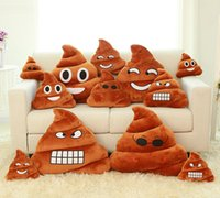 shit - Emoji Pillow Cute Shits Poop Stuffed Toy Doll cm Christmas Present Funny Plush Bolster Cojines Pillows Cushions