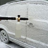 De alta presión del tubo de agua pistola de espuma pulverizador de boquilla dispensador de limpiador de coches