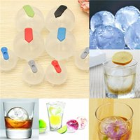 bar top moulding - Top Quality Ice Brick Round Sphere Tray Cube Party Bar Ball Kitchen Maker Mould Plastic order lt no track