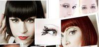 Wholesale hot paper cutting art Eye lashes designs false eyelash Christmas party accessory pairs