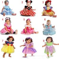 belle wear - Kids Girls Dresses Dance Wear Dress Minnie Lace Dress Halloween Princess Dress Belle Snow White Cinderella Girl Costume Princess Dresses for
