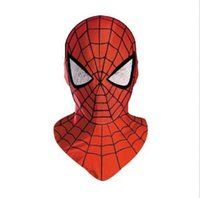 Wholesale new Animation Cartoon COOL Spider Man SPIDERMAN Mask For Halloween and Christmas
