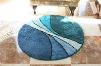 Wholesale Top Sales Round Area Rugs Frloor Hallway Doormats Protect Sitting Room Pad Matting Non Slip Covers