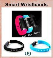 Wholesale U9 Bluetooth Smart Watch Waterproof Wrist UWatch Smartwatch Pedom Electronic Sport Smart watch Android for iPhone Samsung OTH102