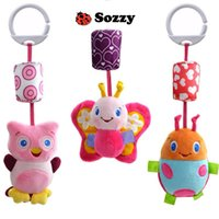 best newborn strollers - 2016 New Infant Toys Mobile Baby Plush Sozzy Bed Wind Chimes Rattles Bell Toy Stroller for Newborn Best Gift For Kids