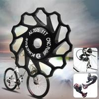 Wholesale 11T Alloy Bicycle Rear Derailleur Jockey Wheel Road MTB Bike Guide Roller Idler Pulley for SHIMANO SRAM Speed