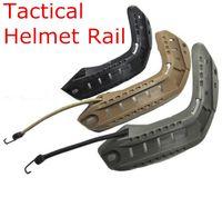 Wholesale Tactical FAST Helmet Accessories IBH Helmet MICH Helmet Rail Mount Flip to Side Mount ARC Helmet Rail System Guide Pulleys