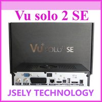 Cheap vu solo 2 SE TV Set Top Box Twin Tuner Decoder DVB-S2 Tuner STB vu solo2 SE HD Linux OS Digital Satellite TV Receiver Free Shipping