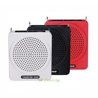 Wholesale Portable Takstar E180M Voice Amplifier w hours of continuous Teaching tour guiding Hanging waist Amplifier U disk TF Card Mp3