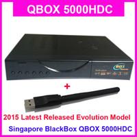 2015 Últimos datos Singapur StarHub receptor de televisión de alta definición por cable QBOX 5000HDC Set Top Box actualizado desde QBOX 4000HDC Soporte Nagra3