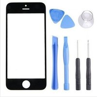 Cheap cell phone LCD iphone 5 Best front screen Glass Lens