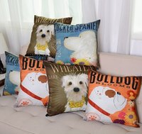 Wholesale Cute Dog Cushion Cover Pillow Covering Gift Decoration For Home cm