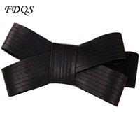beauty fabric belt - Beauty of Simplicity Women Elastic Big Bow Belt for women All Match Dress Skirt Strap Fashion Wide Belt of High Quality Cinto