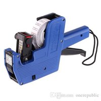 Wholesale New Characters Universal Price Tag Pricing Labeller Gun for supermarket