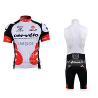 cervelo - 2015 Hot sale outdoor tight clothes Cervelo cycling team jersey rock racing bicycle suit lightweight short sleeve bike wear bib shorts C00S