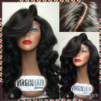 Wholesale 2015 New Glueless Full Lace Wigs A High Quality Brazilian Full Lace Human Hair Wigs Lace Front Wig With Baby Hair In Stock