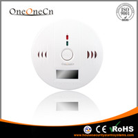 china aa alarms - Home Security Carbon monoxide detector CO Alarm work with AA battery LCD Screen Good Gift DHL Free