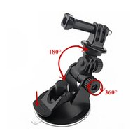 Wholesale 7cm Diameter Mini Sucker Car Suction Cup With Adapter For GoPro Hero SJ4000 Xiaoyi
