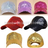 Wholesale NEW Unisex SEQUIN NEWSBOY Baseball Ball Cap Hip Hop Dance Show Party Hat Iwg