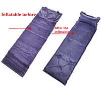 Wholesale Size cm travel necessary Camping Inflateable mat emergency mattress picnic air cushion moisture proof poltron outdoor