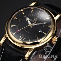Cheap Christmas Gift Wrap Box Black Golden Mens Watches Top Brand Luxury Designer Watches Luxury Watch Japan Movement Quartz Clock