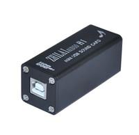 Wholesale ZHILAI cause Salar H1 computer HiFi digital sound input USB external sound card DAC audio output
