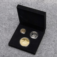 Wholesale 3pcs set Harry Potter Coins The Sorcerer s Stone Gringotts Bank Two Sided Collection Wizarding Coin Galleons Replica