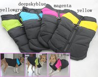 big dog outerwear - New Warmly Large Dog Jacket Big Pet Winter Vest Fashion Outerwear Promotion Sale