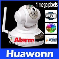 Wholesale EasyN Wireless WiFi IR Cut IP Camera HD MP CMOS Security CCTV Camera Alarm PT Retail box Freeshipping dropshipping