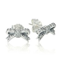 925 sterling silver beads - 5 pieces earings studs fashion jewelry sterling silver fits for pandora style hot sale best quality flower ER115H9