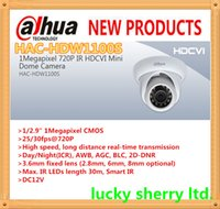750TVL 720P(HD) 20M Wholesale Cheap HAC-HDW1100S Dahua High Definition 720P Security mini dome Camera over Analog Cable HD-CVI 1.0MP 65ft IR Distance