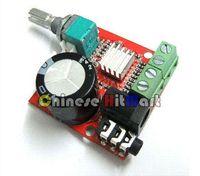 Wholesale Small Digital Audio Amplifier Volt Board W W Two Channel PC Power Amp Class D Stereo Ampli kit LU03
