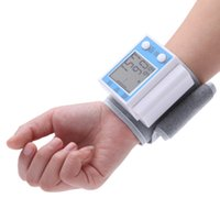 Wholesale Digital LCD Portable Automatic Wrist Blood Pressure Meter Health Pulse Monitor Measurement Sphygmomanometer for Health Care H14152