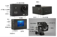 Wholesale 2015 p HD waterproof DV camera Simple to use easy to carry can dive to meters