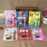 best rubber stamps - 2016 best seller STUDenT stAMPS TROLLERY STAMPS stampS children frozen WINNER BEAR HELLO KITTY PRINCESS Mi roller stamp Quick push seal toy