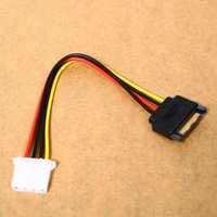 Wholesale new pratical SATA Pin Female to Pin IDE Male Power Cable Cord L01561