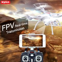 syma helicopter - SYMA X5SW FPV WIFI RC Drone Quadcopter With Camera GHZ Axis Real Time RC Helicopter VS X5C X5C X5SW