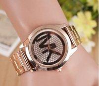 Wholesale MK watches hot models female models golden table strip watch men and women burst models Shelf