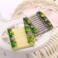 animal steps - Micro landscape Ornaments Luxury Ornaments Small Step Ladder DIY Resin Accessories
